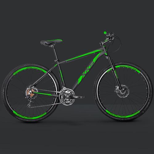 bicicleta xks aro 29 freios a disco 24v câmbios shimano