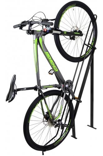 bicicletário de chão para uma bicicleta - altmayer al-19