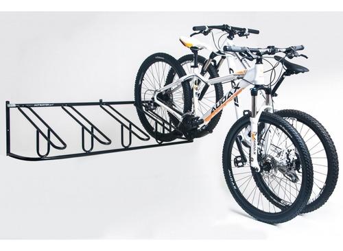 bicicletário de parede e chão 5 bicicletas altmayer ciclismo