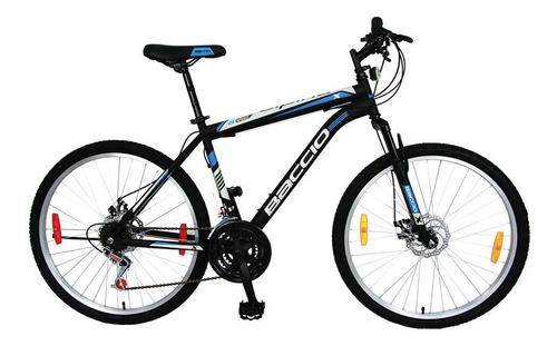 bicicletas  baccio alpina x man rodado 26 freno disco fama