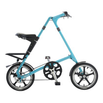 Bicicleta Plegable Strida Turquesa