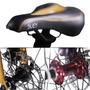 Bicicleta Plegable Sueh Q6 Folding Bike 7 Disco Doble Negro