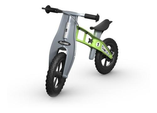 bicicletas de balance firstbike sin pedal niños cross green