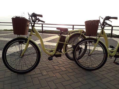 bicicletas eléctricas motor 350 vatios de potencia