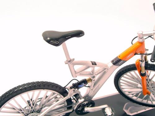 bicicletas escala welly bmw bmw q6.s xtr bicicleta die cast