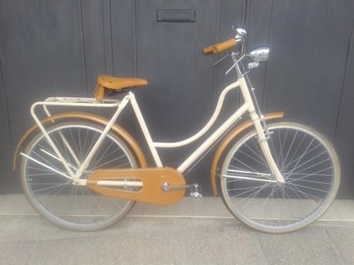 bicicletas estilo inglesa antigua personalizadas rod 26 dama
