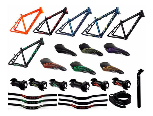 bicicletas gw hyena 27.5 shimano 7 vel freno disco suspensio