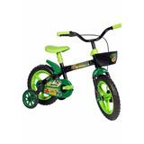 Bicicleta Criança Menino Aro 12 Bike Dino Styll Com Rodinha