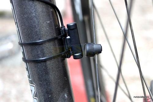 bicicletas + luz traseira velocímetro computador hodômeto