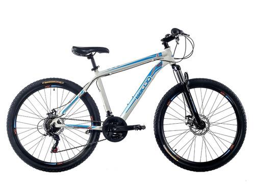 bicicletas montaña baccio xco 27.5 man blanco/celeste fama