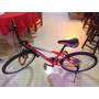 Bicicleta Benotto Rin 24 Roja Y Blanco Rines De Aluminio