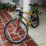 Vendo Bicicleta Montañera Rin #26 Marca Gt Cauchos Nuevos