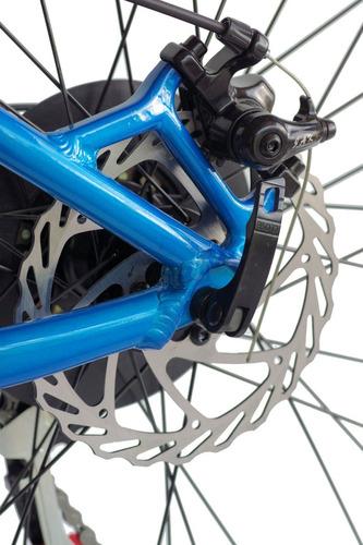bicicletas mtb gw arrow 7 vel. freno disco suspens pedales