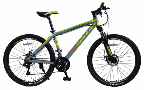 bicicletas mtb phoenix aro 26 modelo rushmore