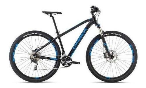 bicicletas orbea mx20 29 shimano deore negro azul talla l/m