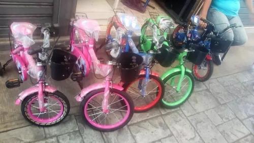 bicicletas rin 16   niños y niñas  nuevas  ofertaaaaa