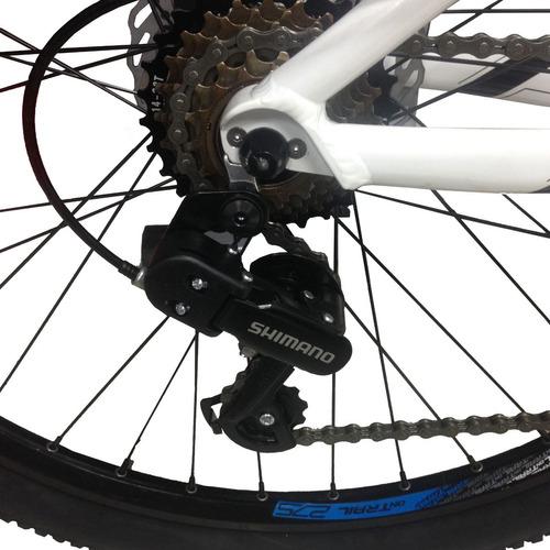 bicicletas todoterreno apache shimano7v rin 27´5 disco susp