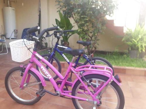 bicicletas tozzi rodado 16 muy buen estado 6000 las dos