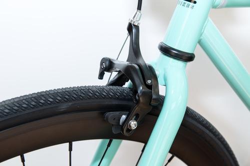 bicicletas urbanas - fixie - aqua impronta bikes