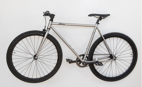 bicicletas urbanas - fixie - silver impronta bikes