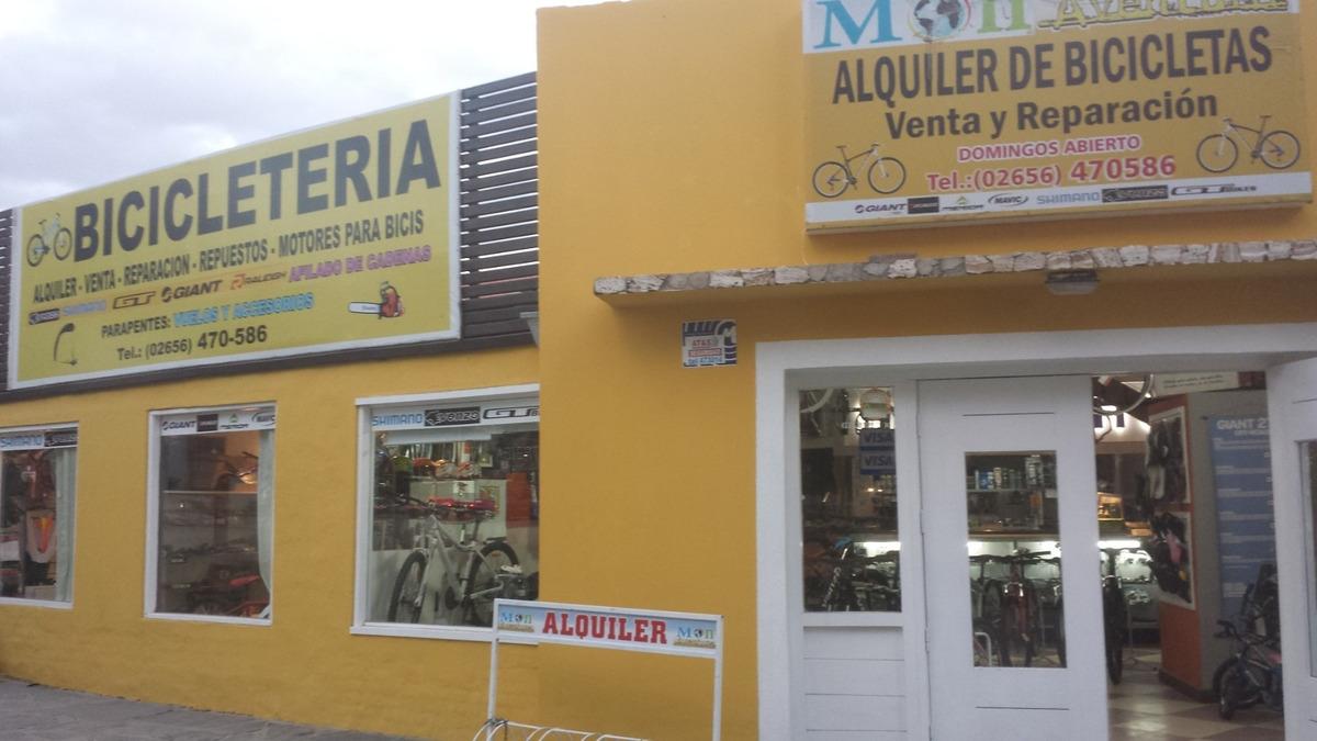 bicicletería vende fondo de comercio en villa de merlo