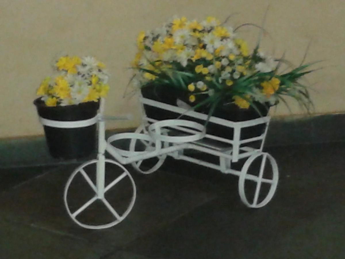 Bicicletinha De Ferro Para Enfeite De Jardim - R$ 69,99 em ...