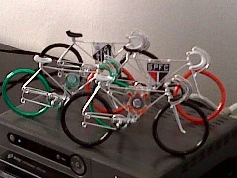 bicicletinhas decorativas de times da serie a do brasileirão