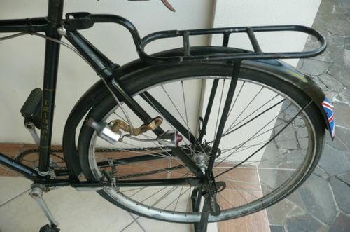 bicileta antiga triumph inglesa década 40 para restauro