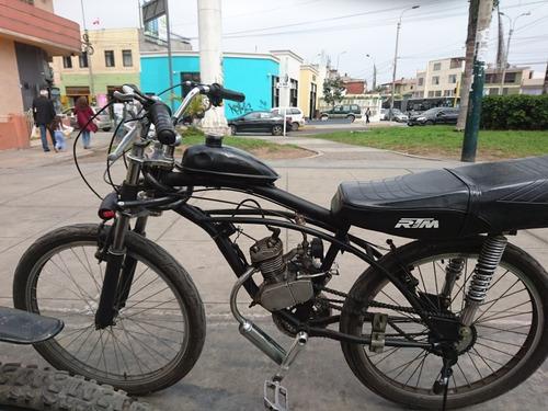 bicimoto 80 cc , carburador potente