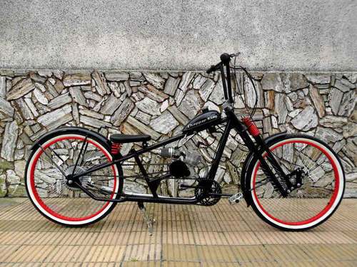 bicimoto chopper king london bobber custom somos fabricantes