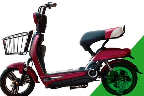 bicimoto eléctrica modelo scooter
