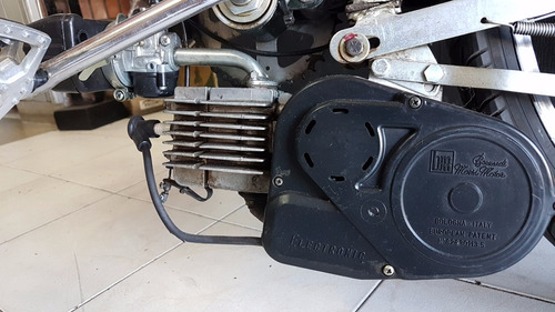 bicimoto italiano centrifugo como okm doble suspenc regulabl