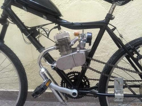 bicimoto mountain bike 0km 48cc negra