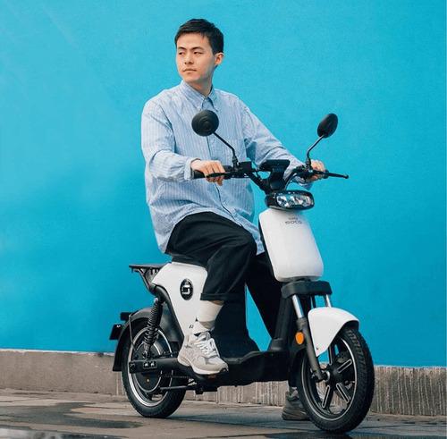 bicleta electrica super soco ru especial pedales nueva