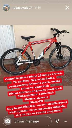 bicleta marca bronco