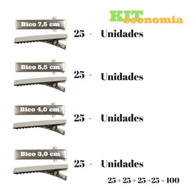 Bico De Pato Acessórios Para Artesanato Kit Total 100 Bico