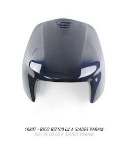 bico frontal biz100 2004 azul s/adesivo