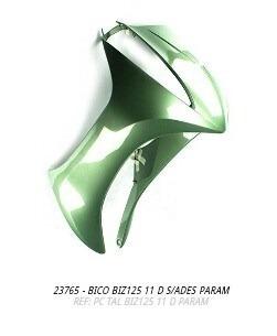 bico frontal biz125 2011 verde s/adesivo