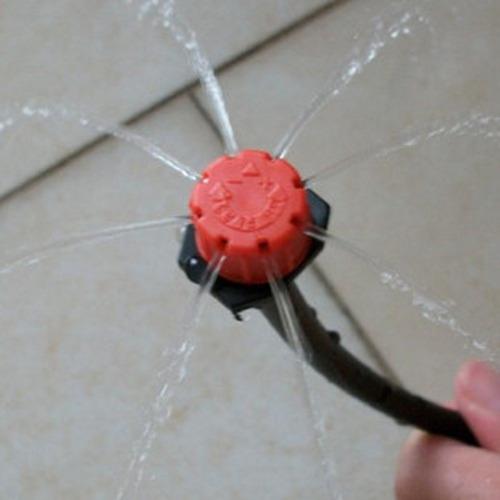 bico gotejador regulável 0-40 litros/h 50   pçs frete barato