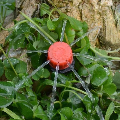 bico gotejador vermelho regulavel 0 a 40 lts horas - 100 und