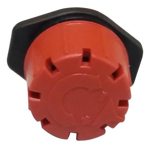 bico gotejador vermelho regulavel 0 a 40 lts horas - 50 und