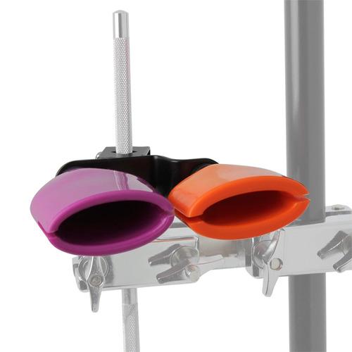 bicolor cencerro para drum set alto y bajo tonos midium tama