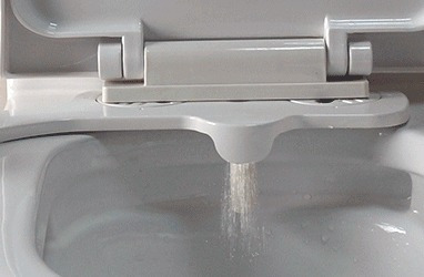 bidet adaptable neobidet  agua fria caliente inodoro