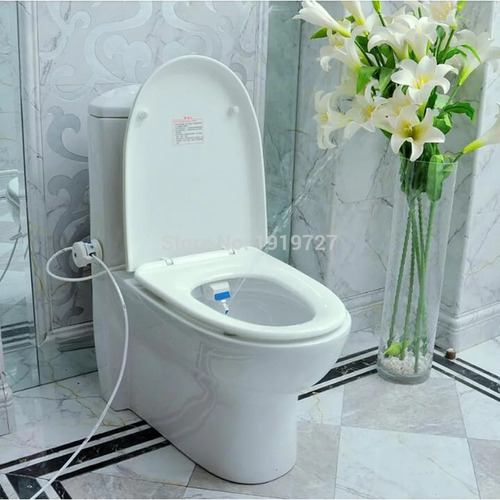 bidet baño spray bide sanitario adaptador lavado intimo agua