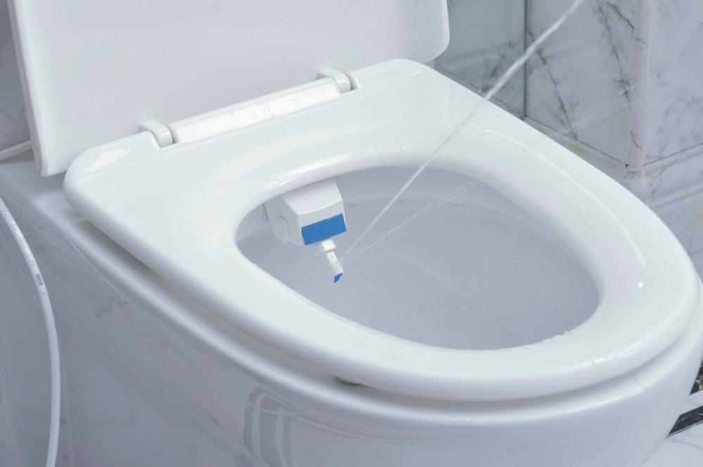 Bidet dispensador de agua sanitario higiene limpieza for Banos de asiento en bidet