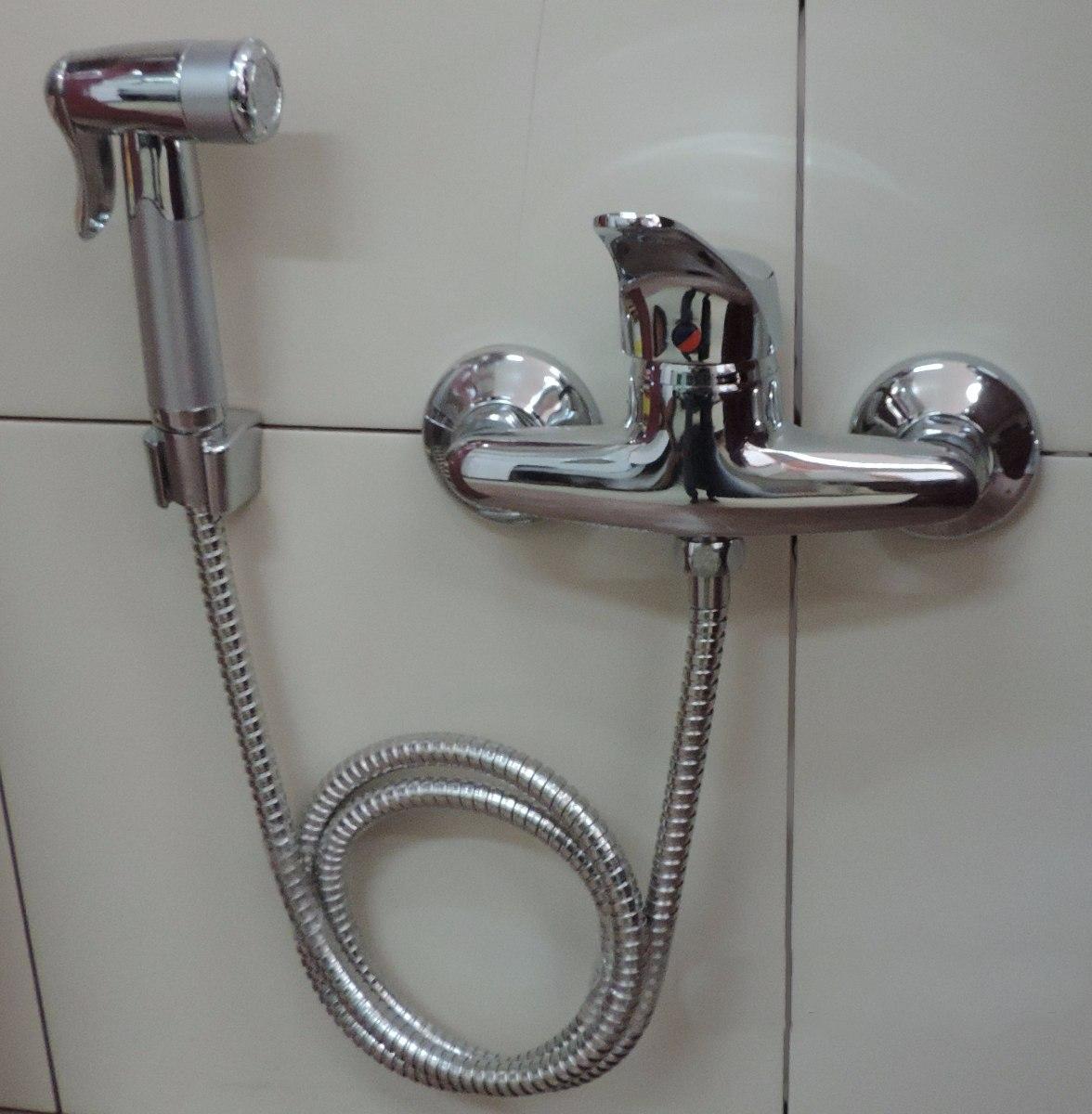 Bidet ducha higi nica grifer a ba o a7 ceramicasuy for Llaves para duchas sodimac