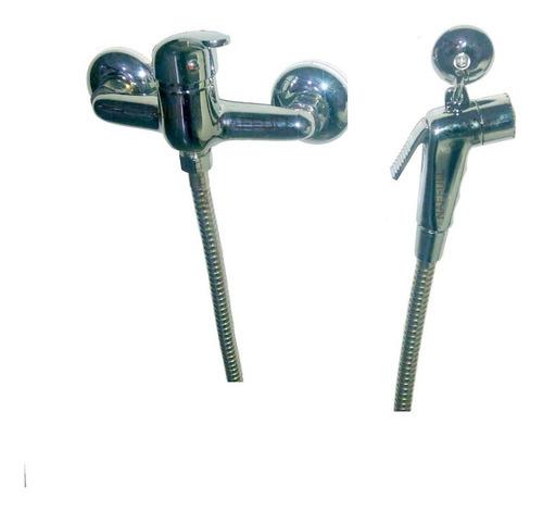 bidet externo fría y caliente para pared, duchador con gatillo estilo brasilero europeo para baño, naffull milan