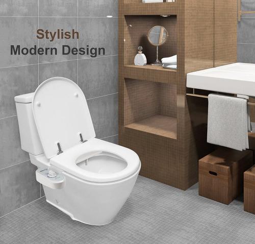 bidet mecanico adaptable para inodoro baños greenco