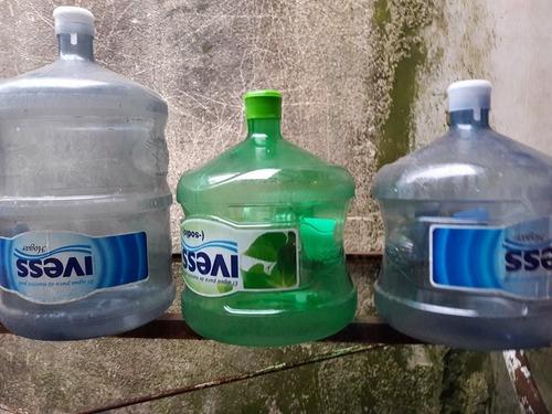 bidon 20 litros y 12 litros para agua (vacios)