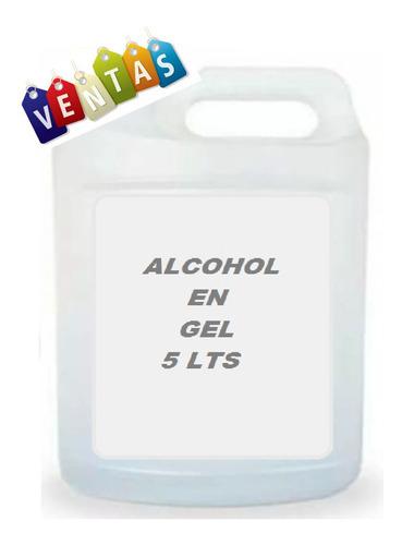 bidón 5 litros alcohol en gel